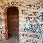 Graffiti in the fortress