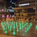 Macedonia Square at night
